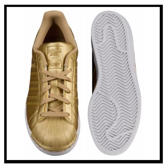 on sale b551d 70025 adidas (adidas) J SUPERSTAR (superstar) (gold) sneakers  GOLDMTGOLDMTGOLDMT BB8129 ENDLESS TRIP (endless trips)