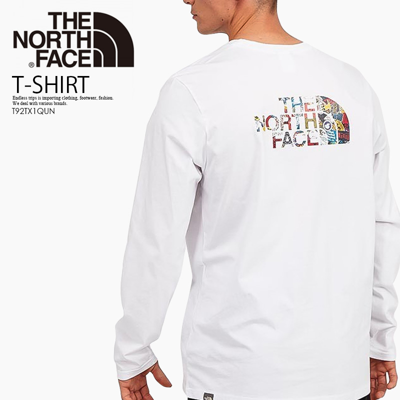 THE NORTH FACE Mens Easy Long Sleeve T-Shirt