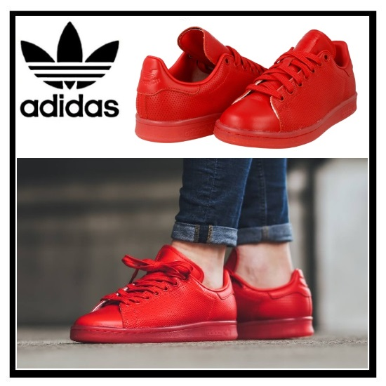 adidas (adidas) STAN SMITH ADICOLOR Stan Smith Womens mens sneakers  SCARLE/SCARLE/SCARLE (red) S80248 ENDLESS TRIP (endless trips)