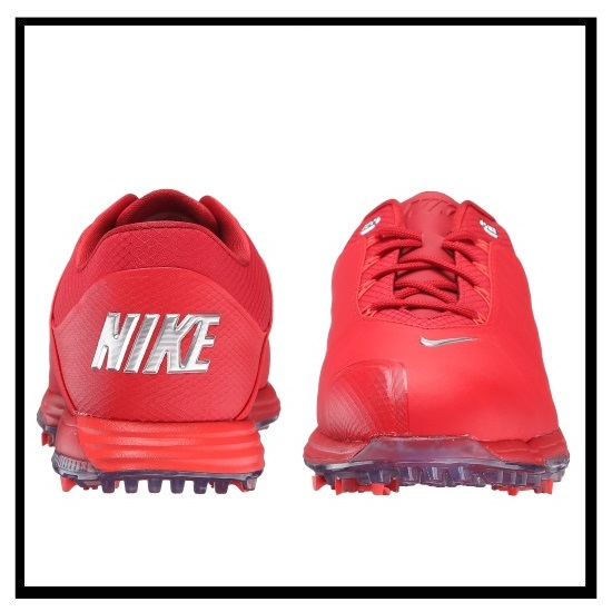NIKE (Nike) LUNAR FIRE GOLF SHOES (luna fire) golf shoes UNV RD/MTLC SLVR-GYM RD-BRT CR (red) 853738 600 ENDLESS TRIP (endless trip)