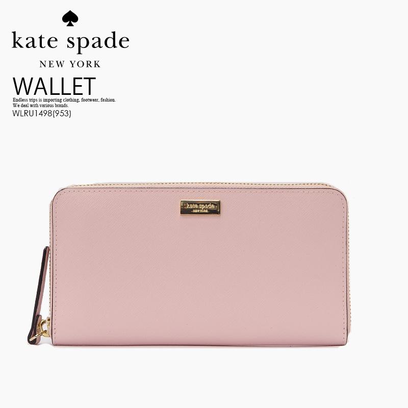 【お買い物マラソン】kate spade ケイトスペード NEWBURY LANE NEDA (ニューベリー レーン ネダ) レディース 長財布 ウォレット WLRU1498 POSYPINK(953)/ピンク ENDLESS TRIP pickup