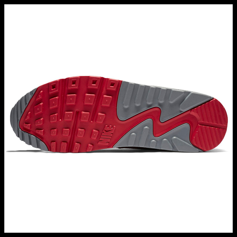 Rakuten supermarket SALE! NIKE (Nike) AIR MAX 90 ESSENTIAL (Air Max 90 essential) GYM REDBLACK NOBLE RED (red black) MENS sneakers shoes 537384 606