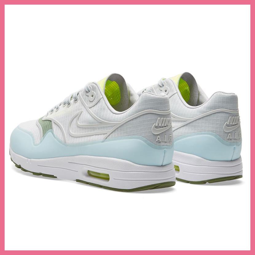 NIKE (Nike) WOMENS NIKE AIR MAX 1 ULTRA 2.0 SI (Air Max 1 ultra 2.0) WOMENS women sneakers shoes WHITEPURE PLATINUM VOLT (white platinum) 881103