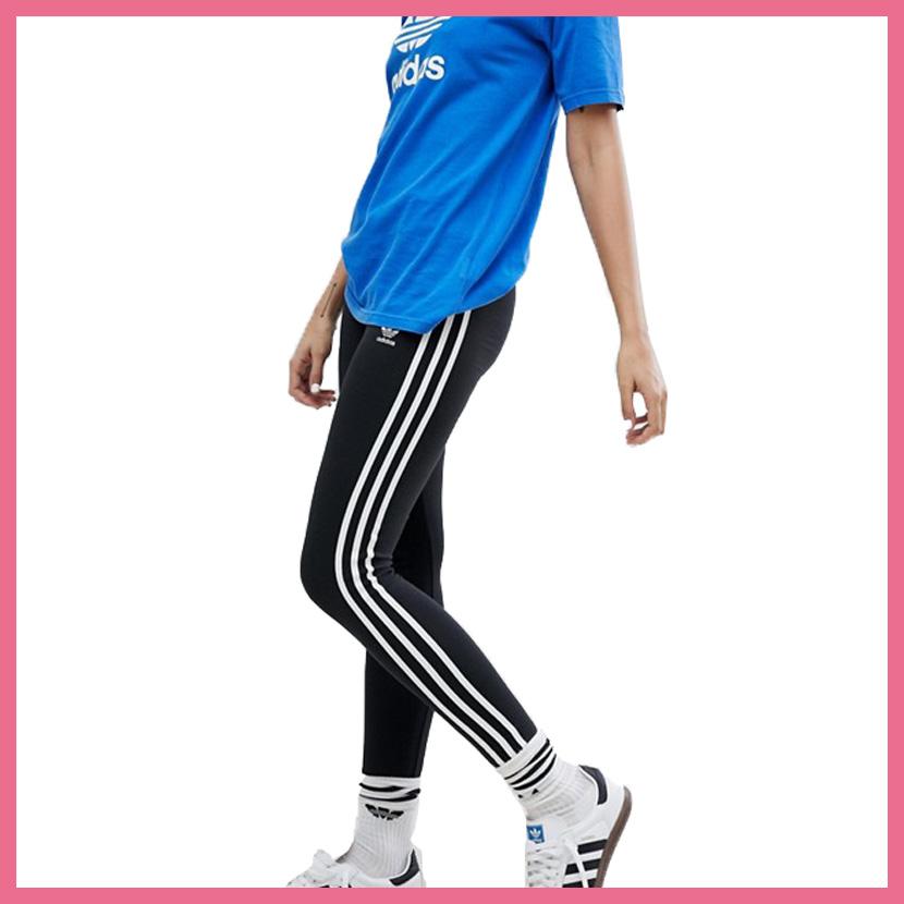 f4b27540d6f45 ENDLESS TRIP: adidas (Adidas) WOMENS 3-STRIPES TIGHTS [3 STR TIGHT ...