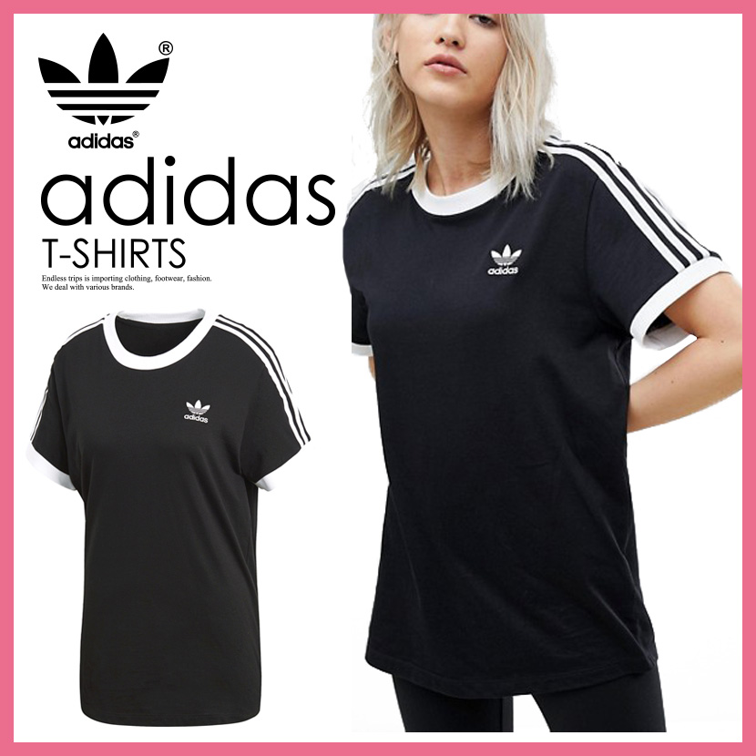 adidas 3stripes t-shirt damen