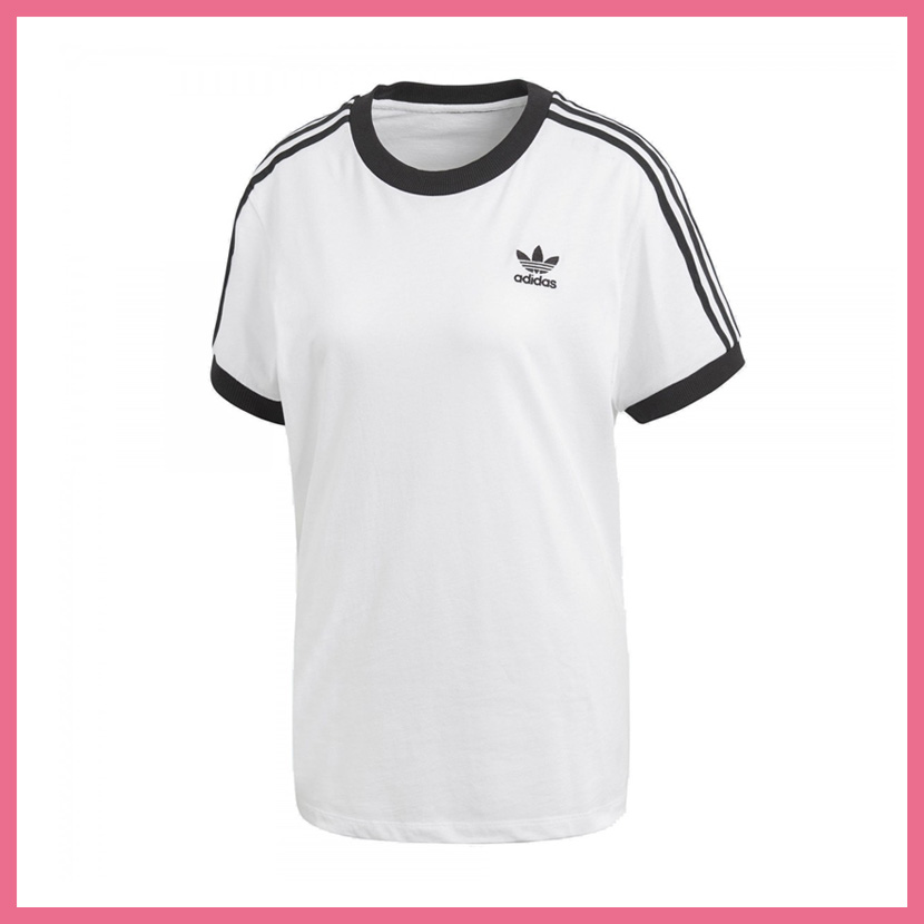 9849bed4 ENDLESS TRIP: It is lady's T-shirt adidas (Adidas) WOMENS 3-STRIPES ...