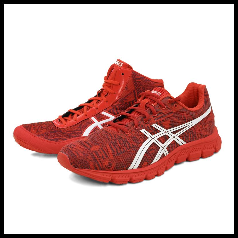 65c712758c55 Asics (ASICS) JB ELITE ALL I SEE IS GOLD (JB ELITE v2.0 + JB ELITE TR)  wrestling training shoes two points BOX set RED WHITE CRIMSON (red   white    crimson) ...