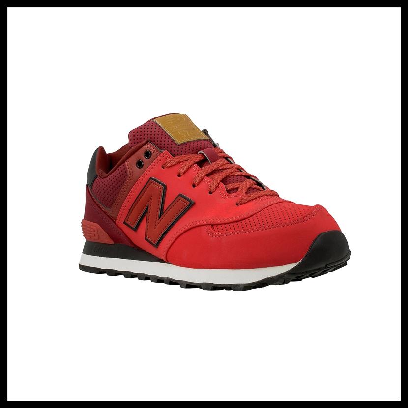 new balance dark red