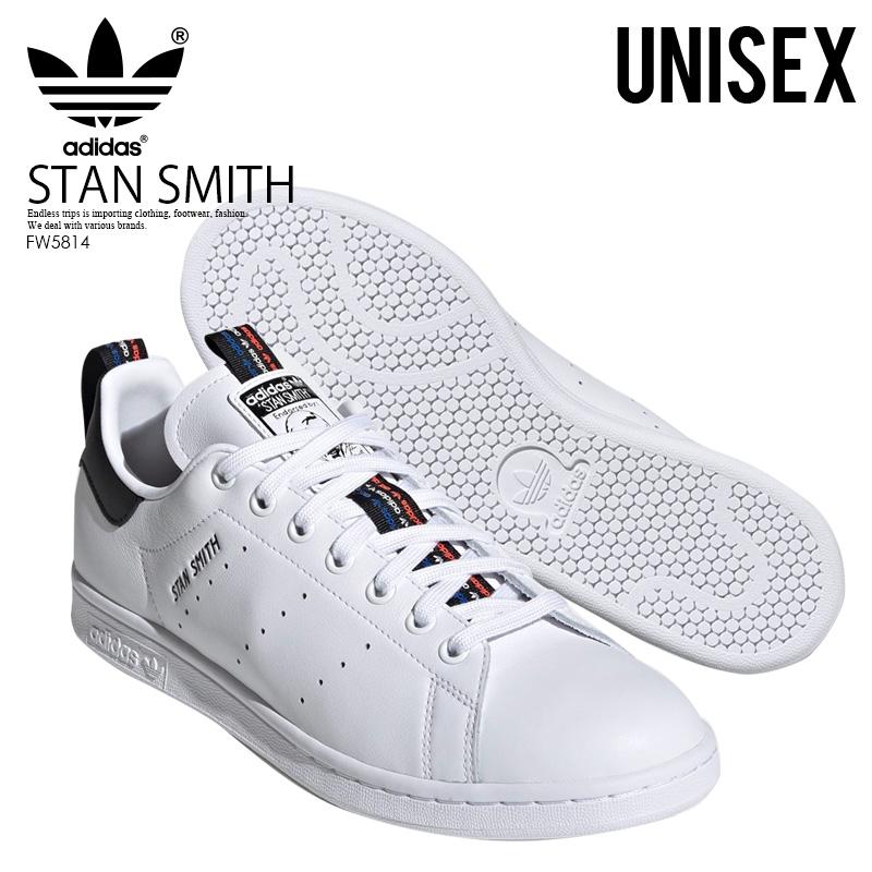 送料無料 adidas スタンスミス STAN SMITH アディダス スニーカー シューズ 靴 メンズ レディース ユニセックス FTWWHT/CBLACK/SOLRED (ホワイト/ブラック) FW5814 ENDLESS TRIP ENDLESSTRIP エンドレストリップ