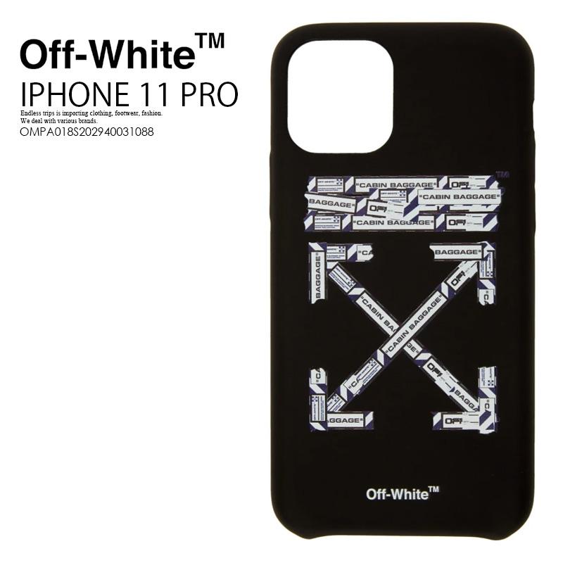【希少! 大人気!】 Off-White (オフホワイト) AIRPORT T IPHONE 11 PRO COVER アイフォンケース スマホケース iPhone 11 Pro対応 BLACK/MULTICOLOR (ブラック/マルチカラー) OMPA018S202940031088