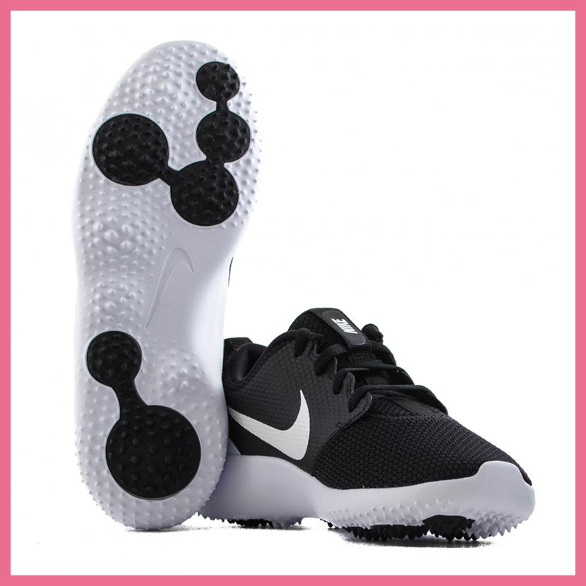 e544fd7d38 ... NIKE (Nike) ROSHE G JR (ロシェジー) WOMENS GOLF SHOES spikesless BLACK/