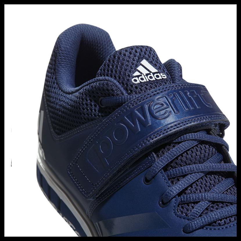 【希少!大人気!ユニセックス モデル】 adidas(アディダス)POWERLIFT.3.1 (パワーリフト) メンズ レディース パワーリフティング ウェイトリフティング 重量挙げ シューズ NOBLE INDIGO/WHITE (インディゴ/ホワイト) CQ1772【外箱ダメージあり】 ENDLESS TRIP