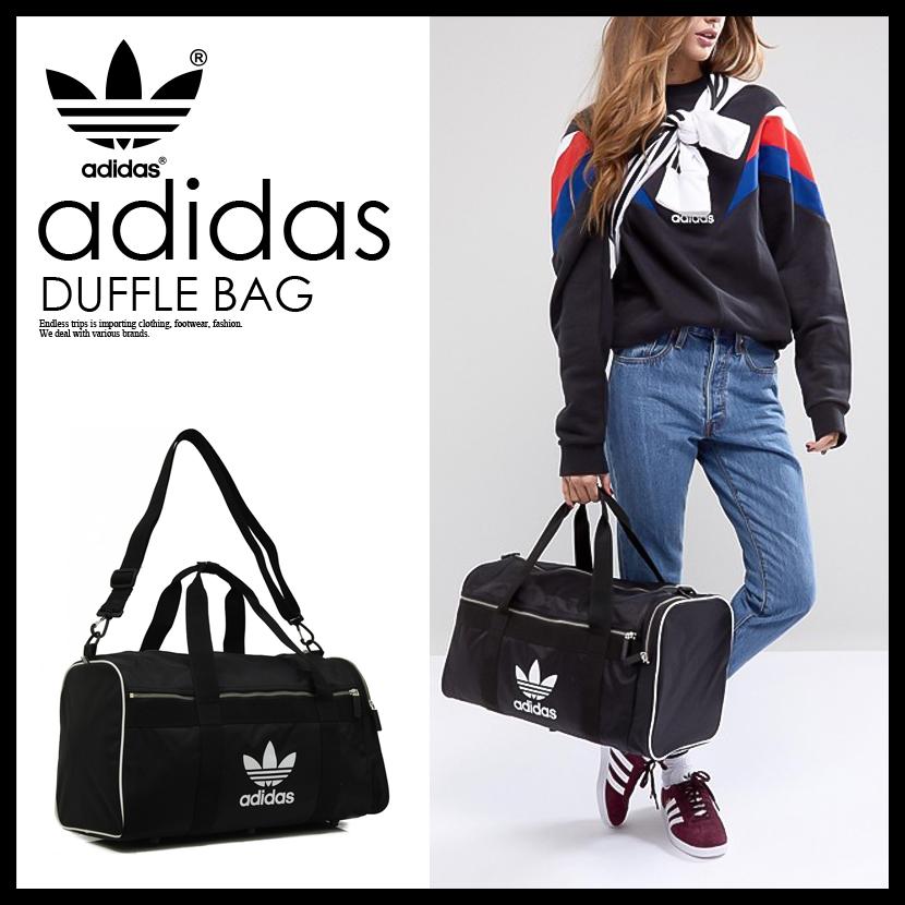 【期間限定】700円OFF!【送料無料】【日本未入荷! 海外限定!】 adidas (アディダス) DUFFLE BAG LARGE[DUFFLE L ac] (ダッフル バッグ ラゲージ) メンズ レディース ユニセックス ボストンバッグ 大容量 BLACK (ブラック) CW0618