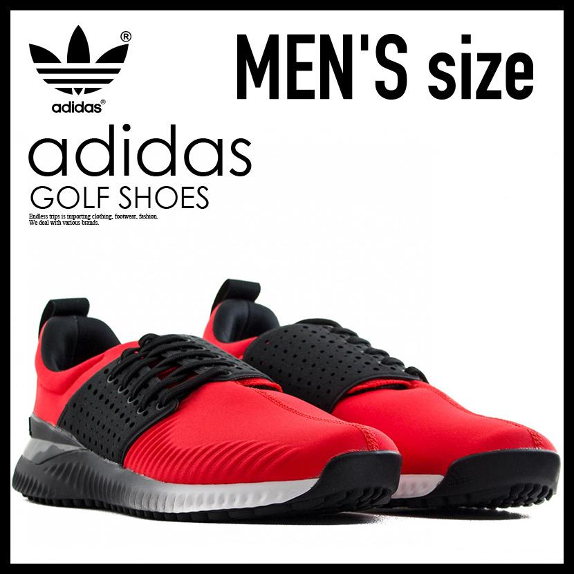 【日本未入荷!希少!メンズ ゴルフシューズ】 adidas (アディダス) ADICROSS BOUNCE (アディクロス バウンス) MENS GOLF SHOES スパイクレス HIRERE/CBLACK/FTWWHT (レッド/ブラック/ホワイト) F33570 ENDLESS TRIP pickup