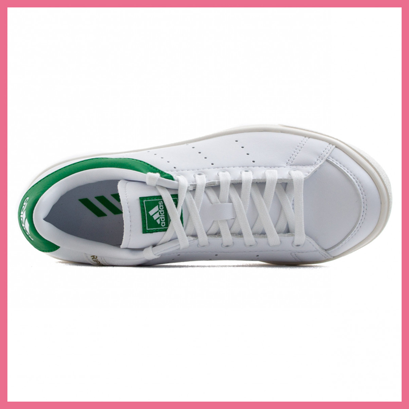 e1ab470ee368 adidas (Adidas) Jr ADICROSS CLASSIC (アディクロスクラシック) WOMENS GOLF SHOES  spikesless FTWWHT FTWWHT GREEN (white   green) F33759 ENDLESS TRIP ...