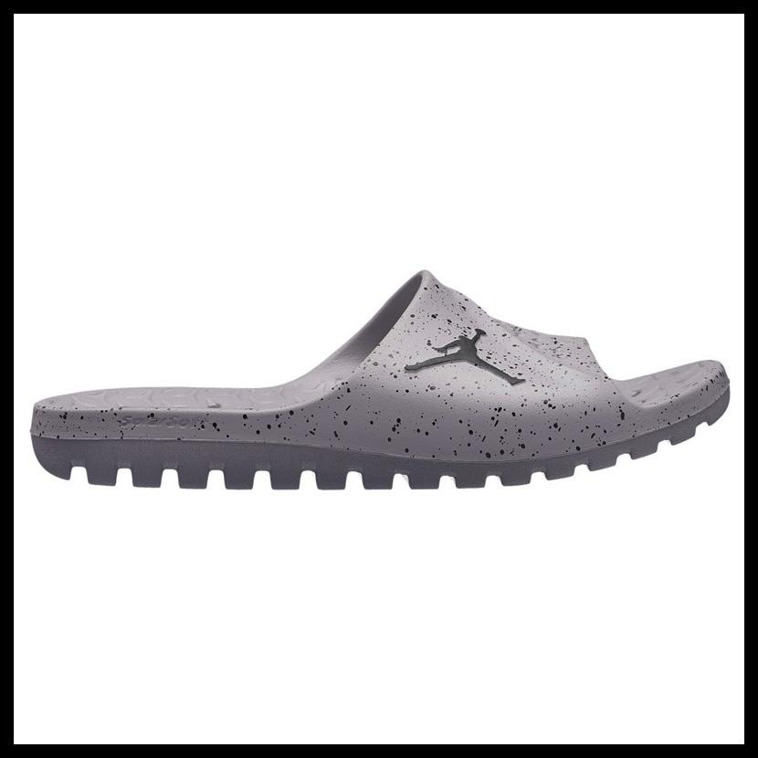08ee3c2ecc5f NIKE (Nike) JORDAN SUPER.FLY TEAM SLIDE (Jordan supermarket.a fried food team  slide) MENS shower sandals Hel sea sandals CEMENT GREY BLACK-BLACK (gray ...