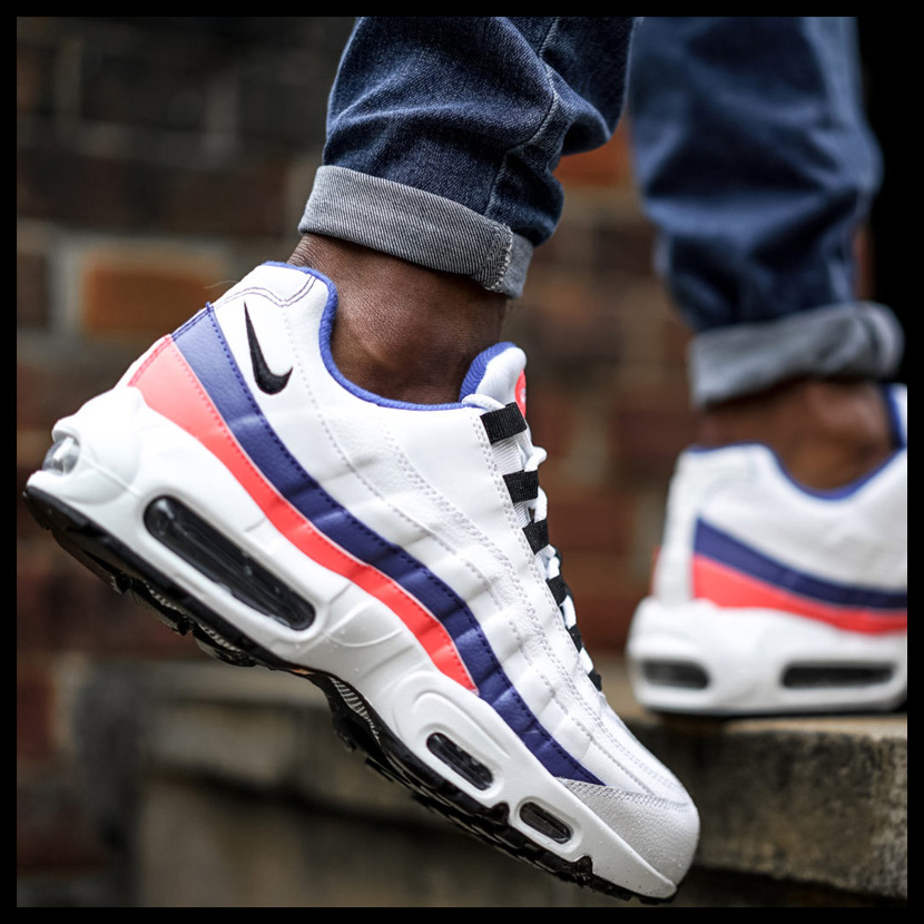 official photos e6a6c 9d404 ... NIKE (Nike) AIR MAX 95 ESSENTIAL (Air Max 95 essential) sneakers WHITE