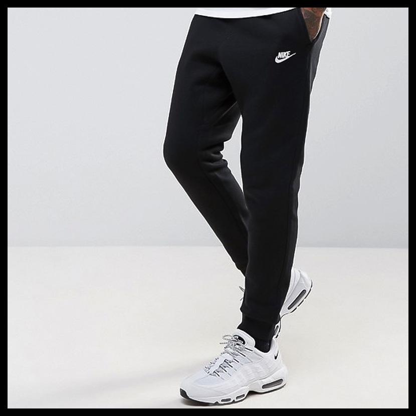 946129682 NIKE (Nike) NSW JOGGER FLEECE PANTS (jogger fleece underwear) MENS  underwear skinny pants jogger underwear BLACK/WHITE (black / white) 804408  010 ENDLESS ...
