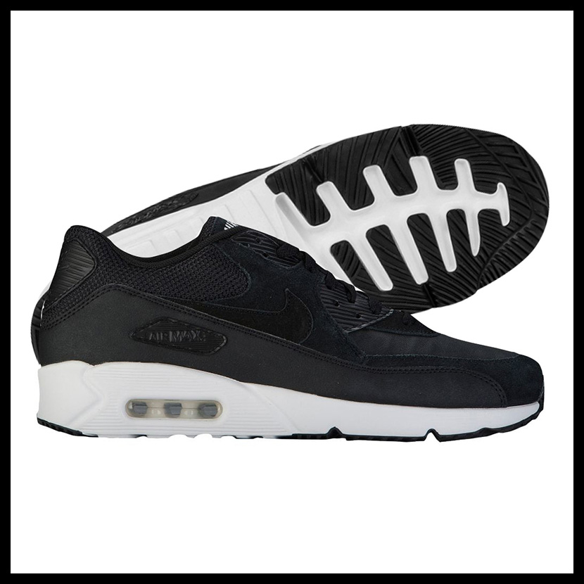Nike Men's Air Max 90 Ultra 2.0 Leather Casual Sneakers from