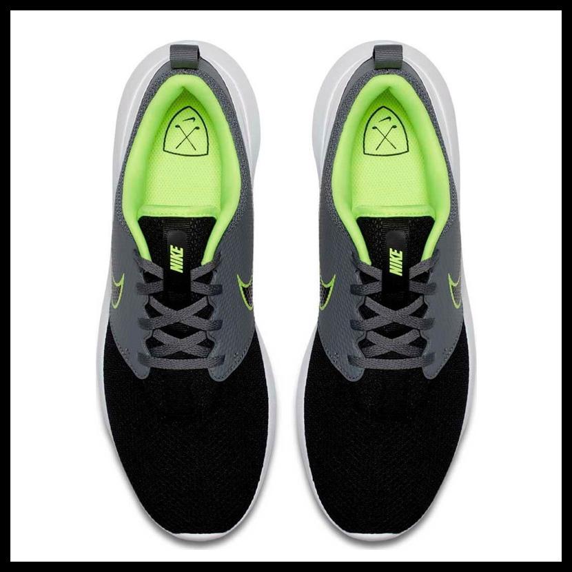 a25a77862134 NIKE (Nike) ROSHE G (ローシジー) MENS GOLF SHOES spikesless golf COOL GREY BLACK- VOLT-WHITE (gray   black) AA1837 003 ENDLESS TRIP ENDLESSTRIP end rest lip