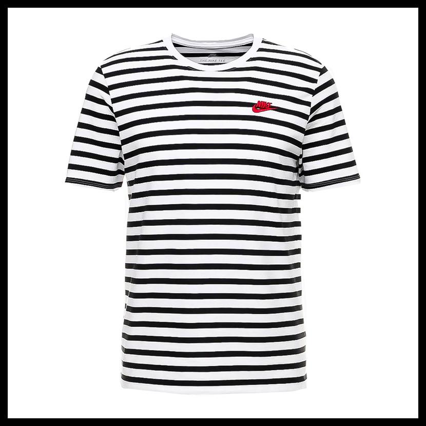 db9fa0bb15 ENDLESS TRIP: NIKE (Nike) STRIPED T-SHIRTS (stripe T) horizontal ...