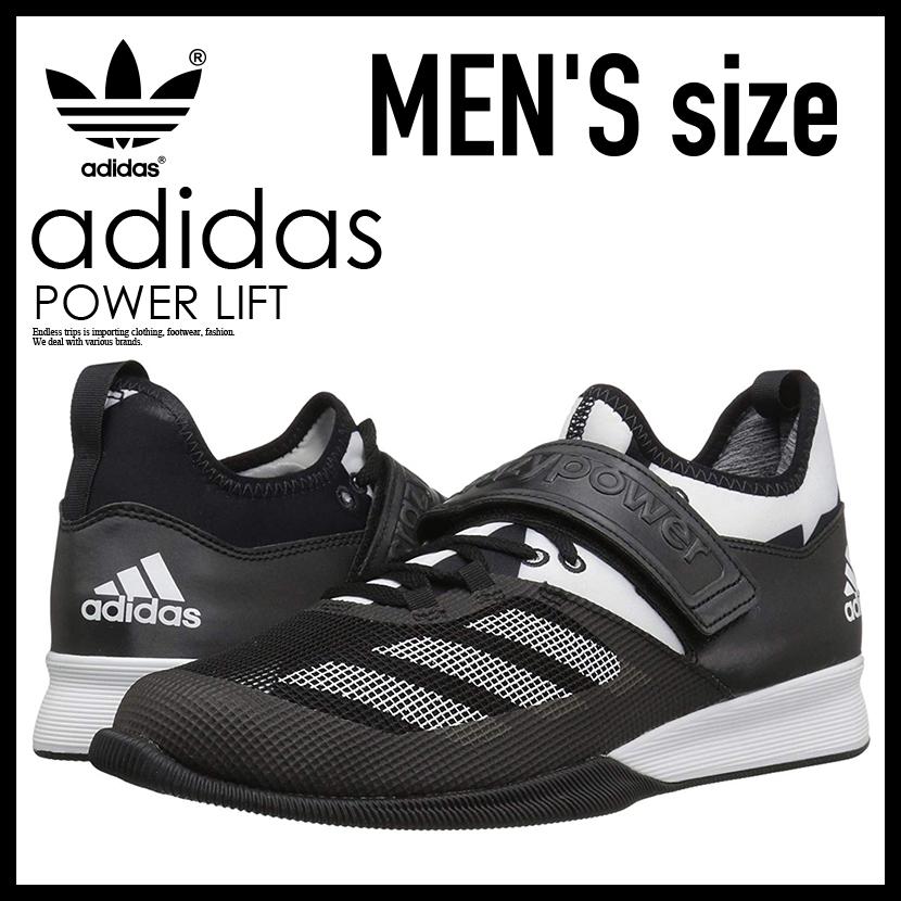 【日本未入荷!希少!メンズ モデル】 adidas(アディダス)CRAZY POWER (クレイジー パワー) パワーリフティング ウェイトリフティング 重量挙げ シューズ BLACK/WHITE/BLACK (ブラック/ホワイト) BA9169ENDLESS TRIP
