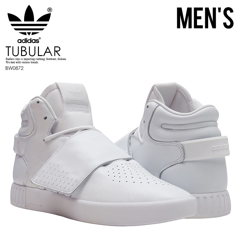 buy popular 2e4a2 55a67 adidas (Adidas) TUBULAR INVADER STRAP (ム ューブラーインベーダーストラップ) sneakers shoes  FTWWHT FTWWHT FTWWHT (white) BW0872 ENDLESS TRIP ...