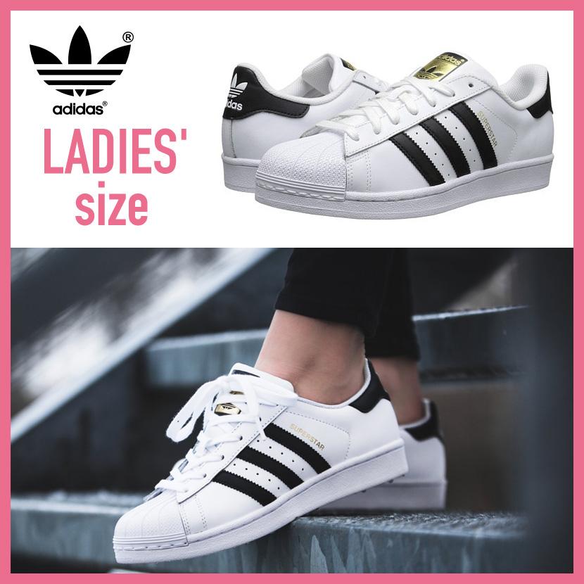adidas ORIGINALS (Adidas) SUPERSTAR J (superstar) Lady's shoes sneakers FTW WHITECORE BLACKFTW WHITE black white (C77154) ENDLESS TRIP ENDLESSTRIP