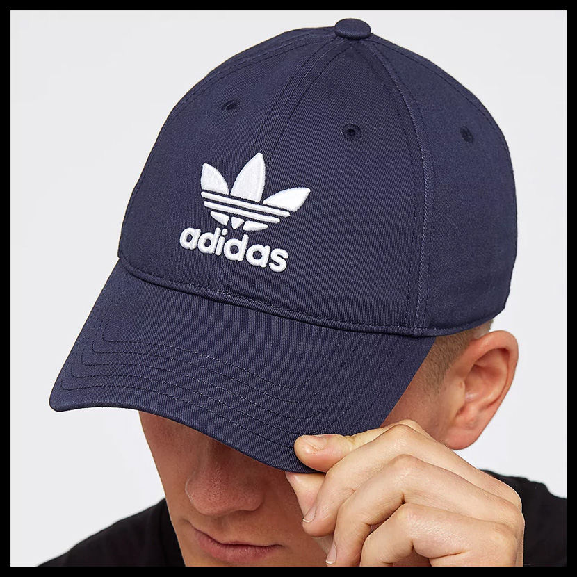 adidas (Adidas) TREFOIL CAP (トレフォイルキャップ) hat men gap Dis CONAVY WHITE (navy    white) CD6973 ENDLESS TRIP end rest lip 62c655284d9