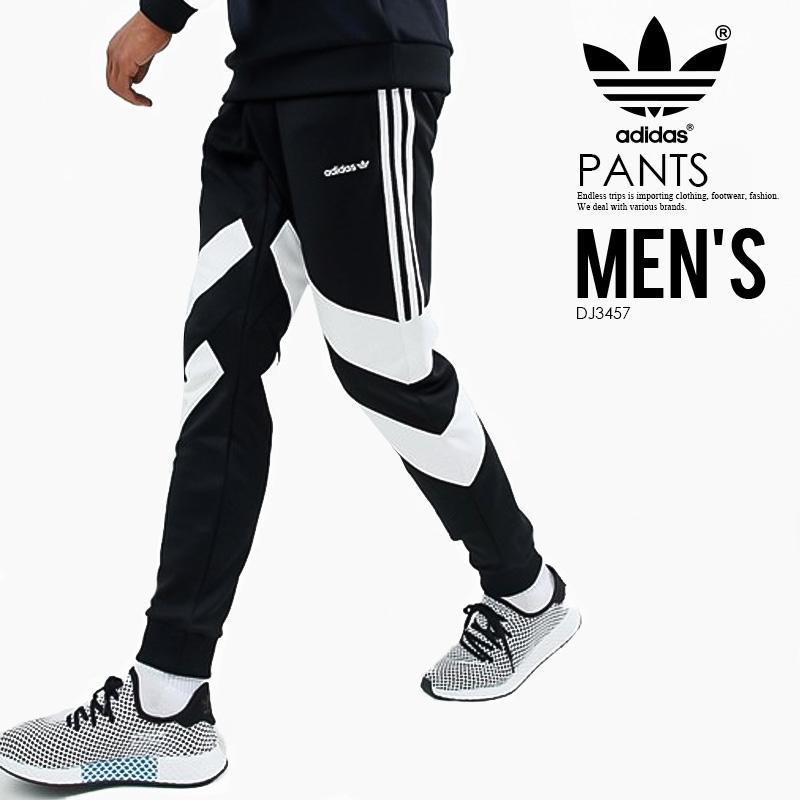 【日本未入荷! 希少! メンズ パンツ】 adidas (アディダス) PALMESTON TRACK PANTS (PALMESTON TP) (パーマストン トラック パンツ) MENS メンズ パンツ スキニーパンツ スキニージャージ BLACK (ブラック) DJ3457 アスレジャー スポーツミックス ENDLESSTRIP