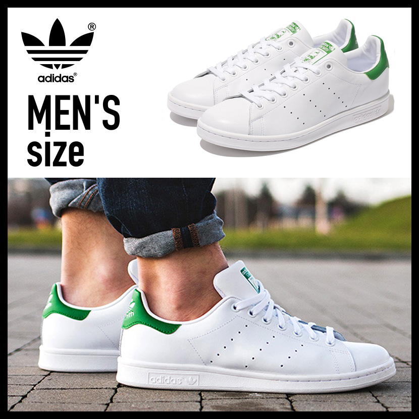 11 / 1 limited the 24 hours from 10 a.m.! adidas Stan Smith Sneaker adidas Stan Smith mens shoes sneakers Core White / Green White / Green White Green ...