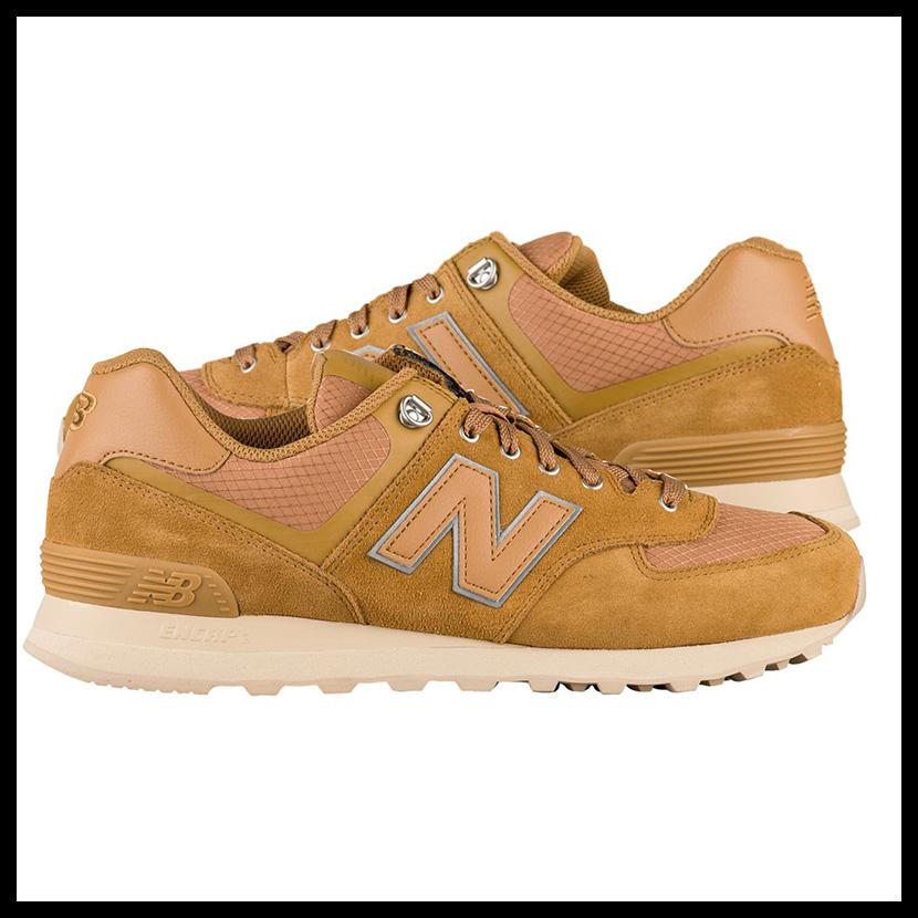 new product d4843 c5ac8 NEW BALANCE (New Balance) ML574PKR men sneakers NUTMEG/SAND (nutmeg / sand)  mustard ML574PKR pickup 0124