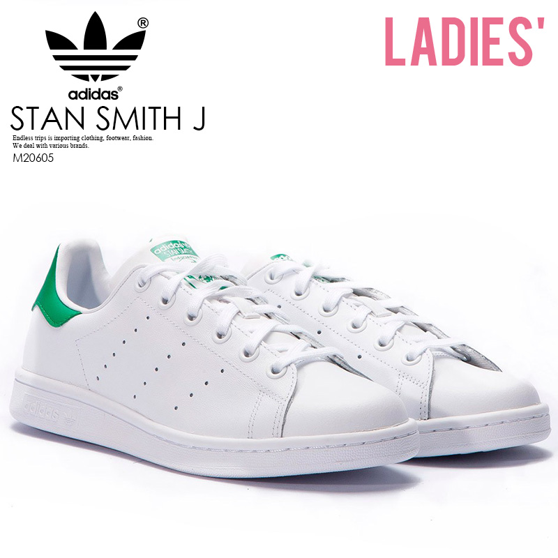 bce11cfd81ea adidas Stan Smith J Sneaker adidas Stan Smith Womens Shoes Sneakers White   Green  (white   green) white green M20605 henmi even Emiri