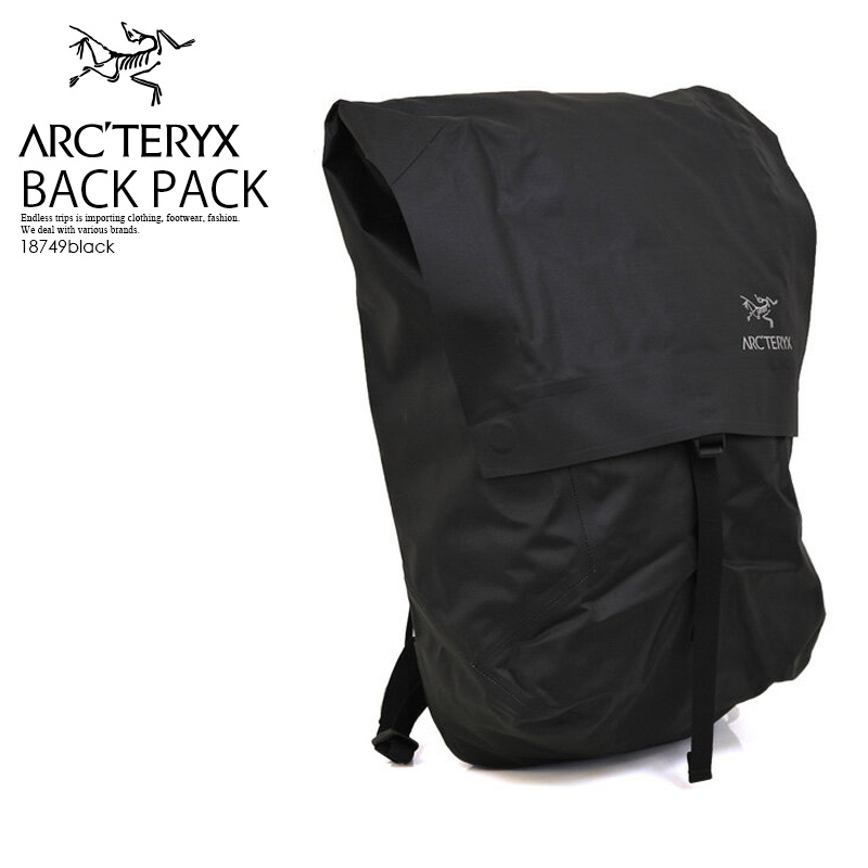 【大人気!!入手困難】 ARC'TERYX (アークテリクス) GRANVILLE BACKPACK (グランヴィル バックパック) メンズ/レディース ユニセックス デイバッグ リュック BLACK (ブラック) 18749 ENDLESS TRIP pickup