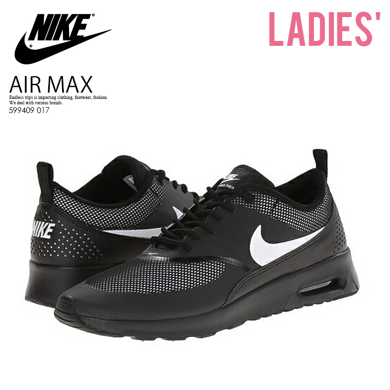 finest selection 3851f 8ede7 Can ship NIKE (Nike) AIR MAX THEA (Air Max Shea) WOMENS Lady s high  technology sneakers sneakers BLACK WHITE black   white (599409 017) country  stock ...
