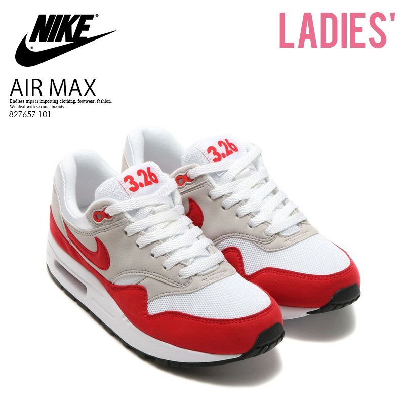 f1569bd2ce90a Shoes Max Qs gs 1 Red Red white 101 Trip Whiteuniversity nike 827657 Women  Womens Endless ...