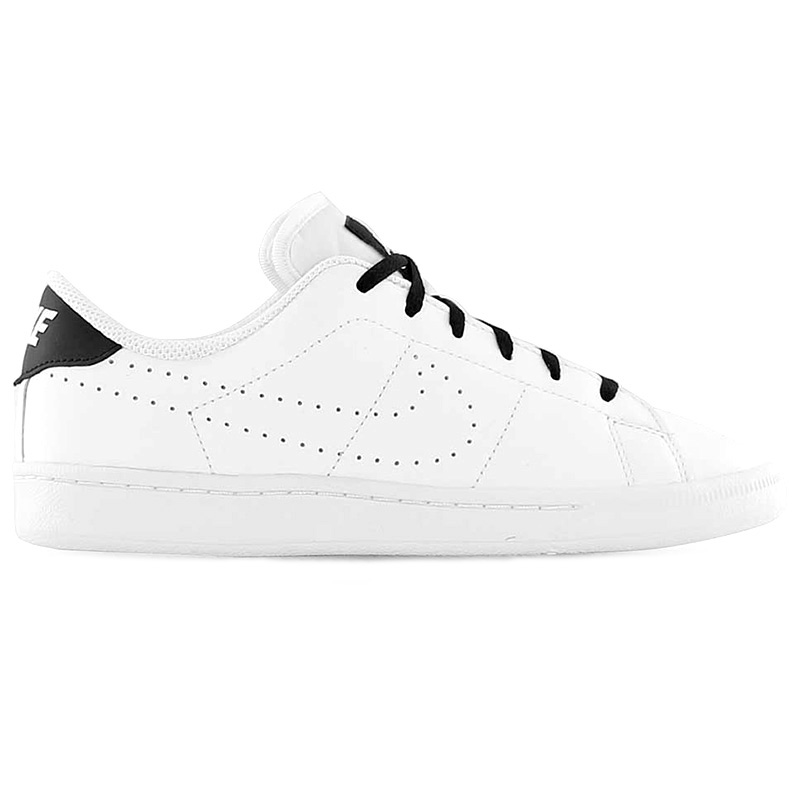 first rate 084d6 cfce0 834123 lady s rare overseas limited model NIKE TENNIS CLASSIC PREMIUM (GS) tennis  classic premium PRM Nike sneakers shoes WHITE WHITE-BLACK white black ...