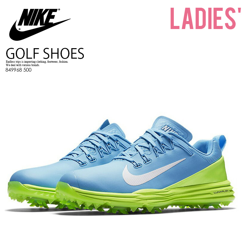 NIKE (Nike) WOMENS NIKE LUNAR COMMAND 2 (luna command 2) golf shoes VIVID  SKY WHITE-GHOST GREEN (sky-blue   green) 880120 400 ENDLESS TRIP  ENDLESSTRIP end ... 2c6d887236f