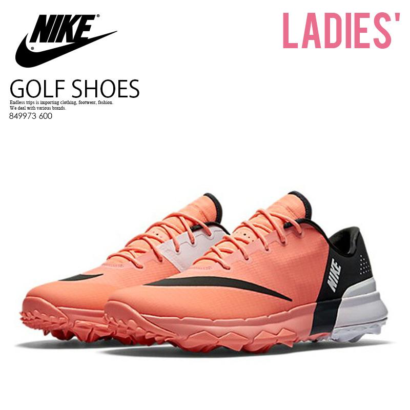 【希少!大人気!レディース ゴルフシューズ】 NIKE (ナイキ) WOMENS NIKE FI FLEX (FI フレックス) ウィメンズ GOLF SHOES スパイクレス LAVA GLOW/ANTHRACITE-WHITE (オレンジ/ホワイト) 849973 600 ENDLESS TRIP ENDLESSTRIP エンドレストリップ