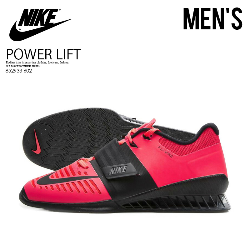 3f65043f152f7 Raise it by NIKE (Nike) ROMALEOS 3 (Roma Leos) MENS weightlifting  powerlifting weight; shoes SOLAR RED/BLACK (red / black) 852933 602 ENDLESS  TRIP ...
