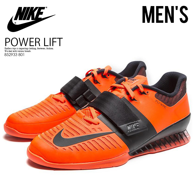 more photos 6ed5c c07c9 Raise it by NIKE (Nike) ROMALEOS 3 (Roma Leos) MENS weightlifting  powerlifting ...