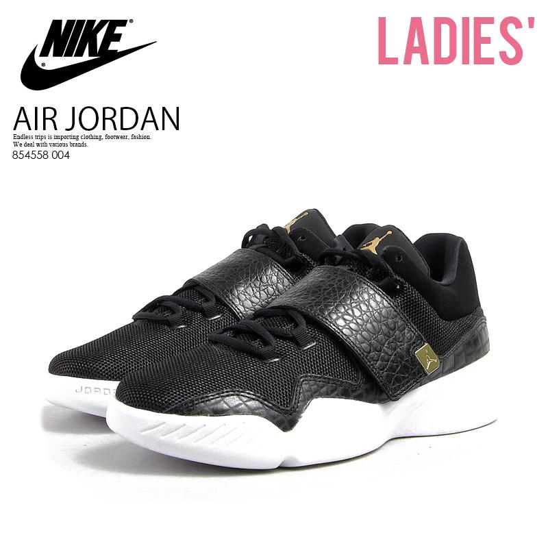 ec45a338c8e282 NIKE (Nike) JORDAN J23 (GS) (Jordan) women sneakers BLACK MTLC GOLD-WHITE  (black   gold) 854558 004 ENDLESS TRIP pickup