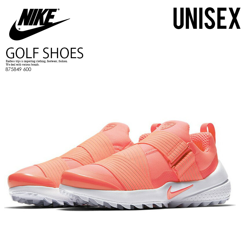 98a05e9e NIKE (Nike) WOMENS NIKE AIR ZOOM GIMME (air zoo wheat me) MENS men gap Dis  golf shoes spikesless RACER PINK/RACER PINK-WHITE (pink) 875849 600 ENDLESS  ...