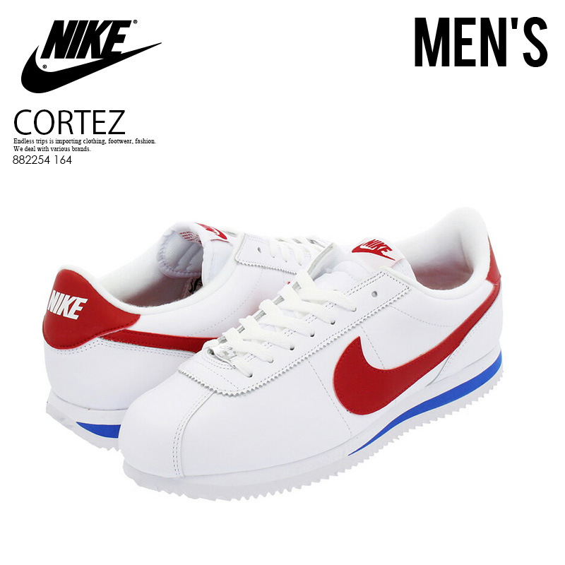 best value 26578 cb5a3 NIKE (Nike) CORTEZ BASIC LEATHER OG (コルテッツベーシックレザー) MENS sneakers WHITE ...