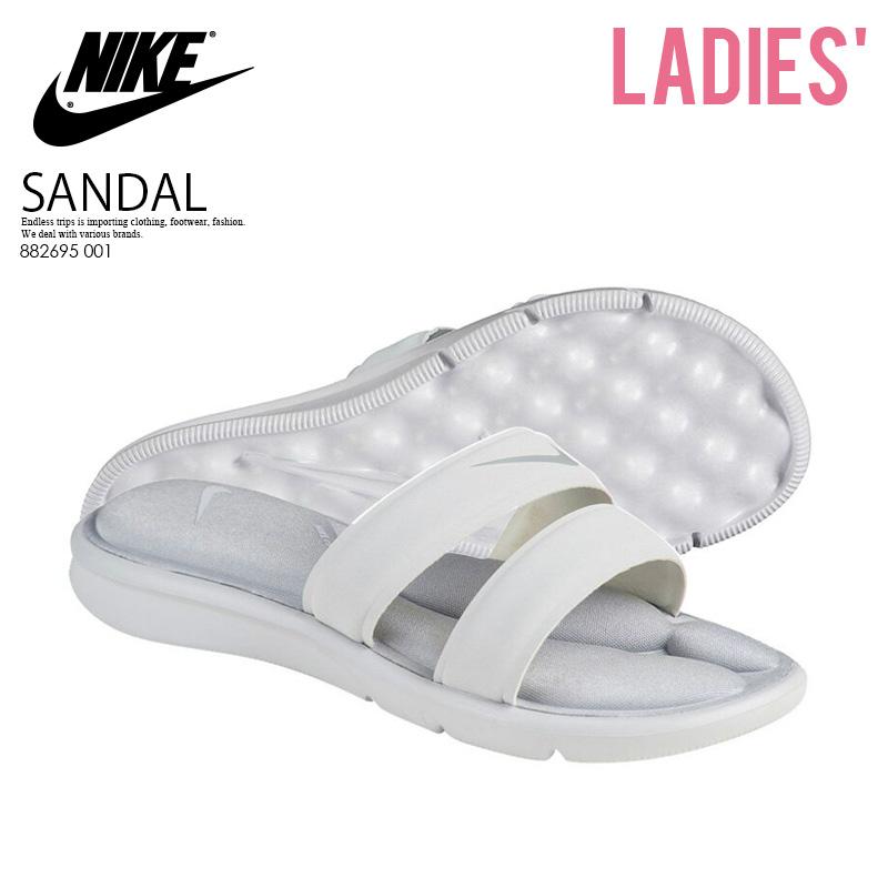 c56d358b4a36 NIKE (Nike) WOMENS NIKE ULTRA COMFORT SLIDE (ultra comfort slide) women  WOMENS シャワーヘルシーベナッシサンダル PURE PLATINUM WOLF GREY (white   gray) ...