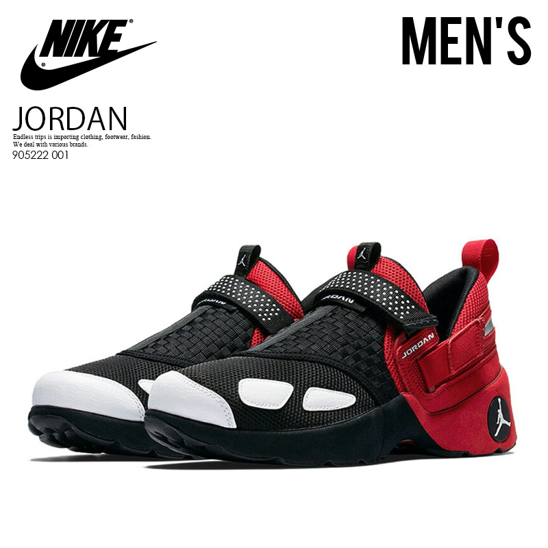 ENDLESS TRIP |  Global Market: to Only just! PT5 + to Market: double! NIKE (Nike) JORDAN TRUNNER LX OG (ジョーダントランナー LX) sneakers training shoes MENS BLACK/WHITE-GYM RED (black / white / red) 905222 001 03fa16