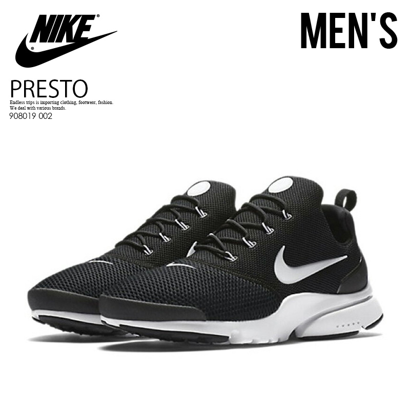 best website 481ce 3c62d NIKE (Nike) PRESTO FLY (presto fly) MENS men sneakers BLACK WHITE ...