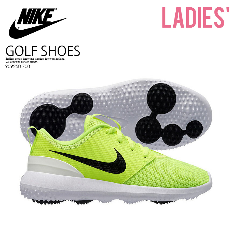 f893f8d83df8 NIKE (Nike) ROSHE G JR (Losey) golf spikesless VOLT BLACK-WHITE (yellow    black white) 909250 700 ENDLESS TRIP ENDLESSTRIP end rest lip