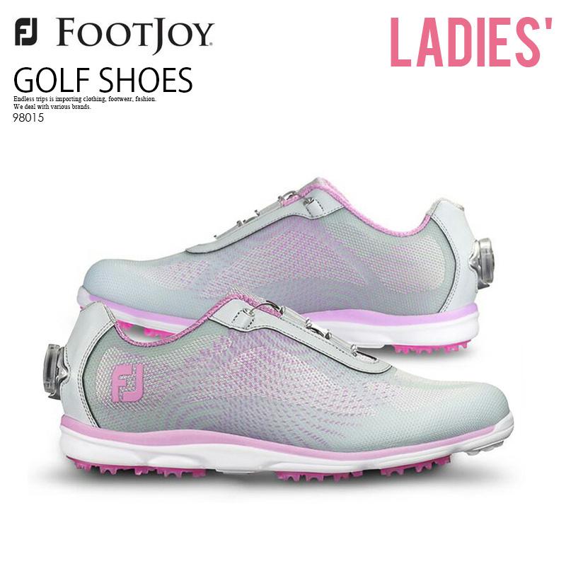 【お買い物マラソン】【希少!大人気! レディース ゴルフシューズ】 FOOTJOY (フットジョイ) emPOWER BOA WOMEN (エンパワー ボア) WOMEN GOLF SHOES SILVER/LILAC (シルバー/ライラック) 98015 ENDLESS TRIP ENDLESSTRIP エンドレストリップ