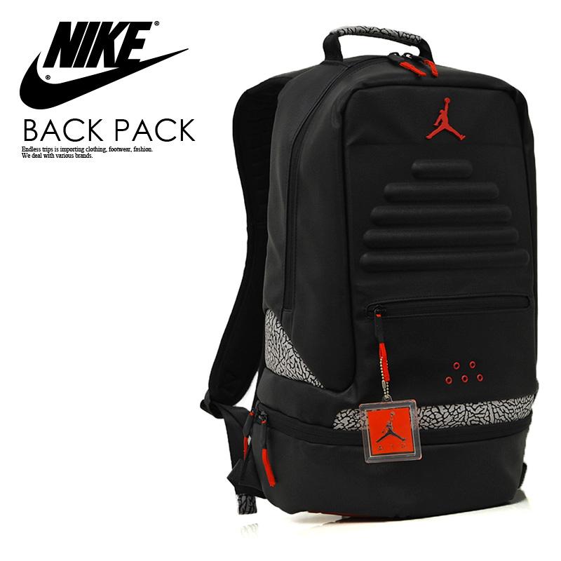 7157d866c82 NIKE (Nike) JORDAN RETRO 3 BACKPACK (3 Jordan nostalgic backpacks) men s ...